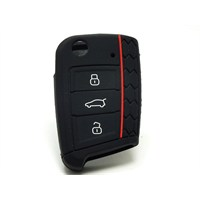 Gsk Volkswagen Polo Kumanda Kabı Koruyucu- Siyah- 2014-2015
