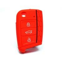 Gsk Seat Ibiza Kumanda Kabı Koruyucu- Kırmızı- 2014-2015