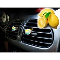 Z tech Limon Aromalı Havalandırma Kokusu 4 lü set