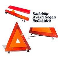 Schwer Üçgen Reflektör E11 Sertifikalı Demir Ayaklı 9662