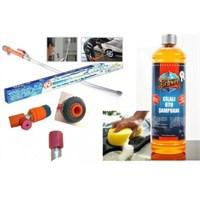 Water Jet Ve Schwer Konsantire Cilalı Oto Şampuanı -Sünger