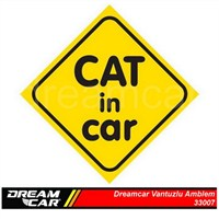 Dreamcar Vantuzlu Amblem ''Cat In Car'' 3300708