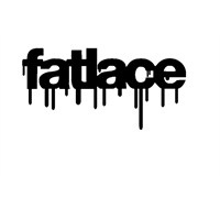 "Z tech "" fatlace "" Siyah Sticker 14x7cm"