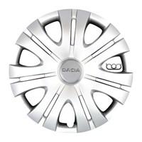 Bod Dacia 16 İnç Jant Kapak Seti 4 Lü 608