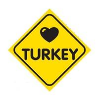 Dreamcar Vantuzlu Amblem ''I Love Turkey'' 3300714
