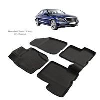 Mercedes C Serisi W205 3D Havuzlu Paspas (2014 Ve Sonrası)