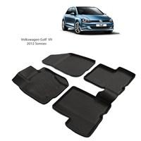Volkswagen Golf7 (2012 Ve Sonrası) 3D Paspas