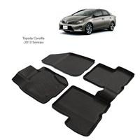 Toyota Corolla (2013 Ve Sonrası) 3D Paspas