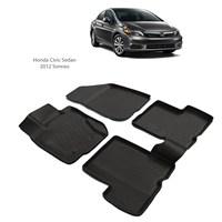 Honda Civic Sedan (2012 Ve Sonrası) 3D Paspas
