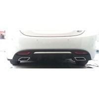 Hyundai Elantra Arka Difüzör Plastik