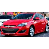 Opel Astra J Yan Marşpiyel