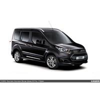 S-Dizayn Ford Connect Krom Sürgü Kapı Çıtası 2 Prç. 2014 Üzeri
