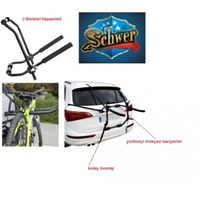 Schwer Bisiklet Bagajı - 2 Bisiklet Taşıma Kapasiteli