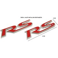ModaCar RS 6 Cm Metal Arma 2 Adet 104445