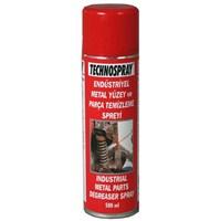 Technospray Endüstriyel Metal Yüzey ve Parça Temizleme Spreyi 500 ml 11325