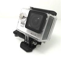 Platoon PL679 1080P+Wifi+Türkçe Menü Gümüş Motorsiklet Kamera