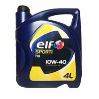 Elf Sporti TX1 10W-40 4 Litre Motor Yağı Benzin+LPG +Dizel (Üretim Yılı:2017)