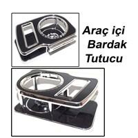 AutoCet Araç İçi Siyah Bardaklık Organizer 52015