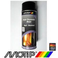 Motip 690°C Isıya Dayanıklı Siyah Boya 400 Ml. Made in Germany 4048500334115