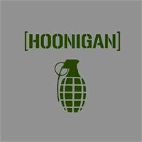 """Z tech """" Hoonigan """" Yeşil Sticker 12x11 cm"""
