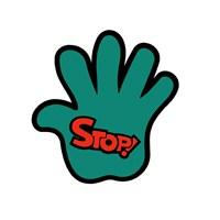 "Z tech "" Stop "" Sticker 11 x 11 cm"