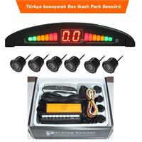 AutoCet 2 Ön / 4 Arka Led Göstergeli Türkçe Konuşan Sesli Park Sensörü