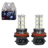BTCar H11 18'li Lazer Far Ampülü Beyaz Işık 2'li Set 611026