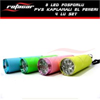 Rotacar Sport 9 Ledli El feneri (4 Adet)