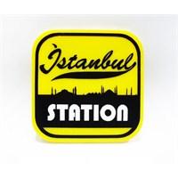 """Z tech """"istanbul station"""" Pleksi Sticker 7x7"""