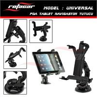 Rotacar 360°Limitsiz Fonksiyonel Universal Tablet Tutucu
