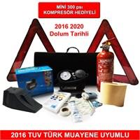 Trafik Seti Mini Kompresör Hediyeli 2016 Muayene Uyumlu