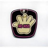 """Z tech """"No Kiss"""" Pleksi Sticker 9x8cm"""