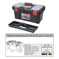 AutoCet 22 inç SUPER-BAG Boş Takım Çantası (Malzeme kutusu )