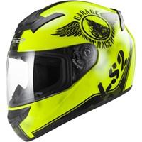 Ls2 Ff352 Fan Neon Sarı Kask