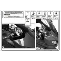Kappa D440kıt Yamaha Fz6 600 Fazer S2 (07-11) Rüzgar Sıperlık Baglantısı