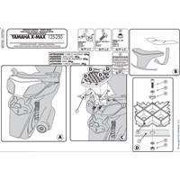 Gıvı Sr370m Yamaha X-Max 125-250 (10-13) Arka Çanta Tasıyıcı