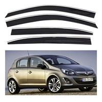 Sportline Nikelaj Hatlı Opel Corsa D Kasa 4 Kapı Rüzgarlık Seti 104511