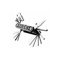 Brooks Alyan Çakı Seti Mt21 Siyah Renk