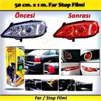 Schwer Far Stop Filmi 50 Cm X 1 M. Kırmızı