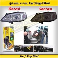 Schwer Far Stop Filmi 50 Cm X 1 M. Siyah