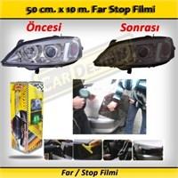 Schwer Far Stop Filmi 50 Cm X 10 M. Siyah