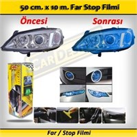 Schwer Far Stop Filmi 50 Cm X 10 M. Mavi