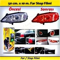 Schwer Far Stop Filmi 50 Cm X 10 M. Kırmızı