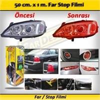 Schwer Far Stop Filmi 50 Cm. X 1 M. Orange