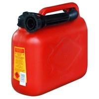 Schwer Benzin Bidonu 5 Litre Hortumlu