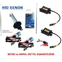 Schwer H4 6000K Xenon Far Seti İnce Slim Dijital Balats