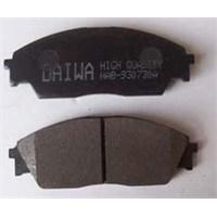 Honda Integra- 90/91 Ön Fren Balatası Düz Tip