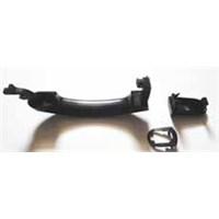 Ford Fıesta- 02/07 Ön Kapı Dış Açma Kolu Sol Siyah Anahtar Deli