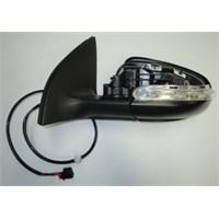 Volkswagen Golf- 6- 09/11 Kapı Aynası Sol Elektrikli/Kapaksız/Ca
