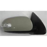 Kıa Cerato- 10/11 Kapı Aynası R Elektrikli/Sinyalli Gri Kapaklı